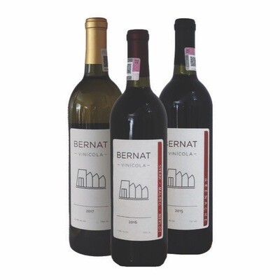 1 Viognier & Chardonnay + 1 Grenache + 1 Syrah, Malbec & Merlot