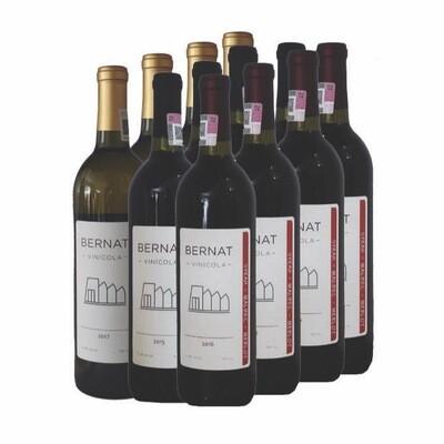 3 Viognier & Chardonnay + 3 Grenache + 3 Syrah, Malbec & Merlot