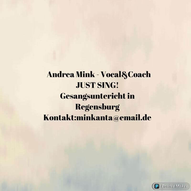 ONLINE-GESANGSUNTERRICHT - FÜNF STUNDEN