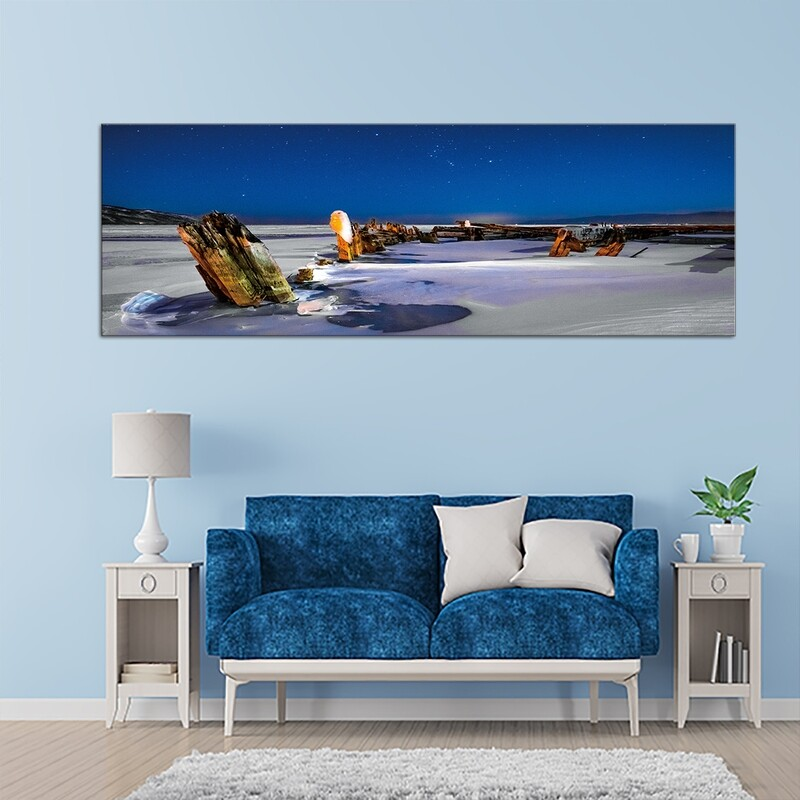 Iceland Beauty  - Modern Luxury Wall art Printed on Acrylic Glass - Frameless and Ready to Hang