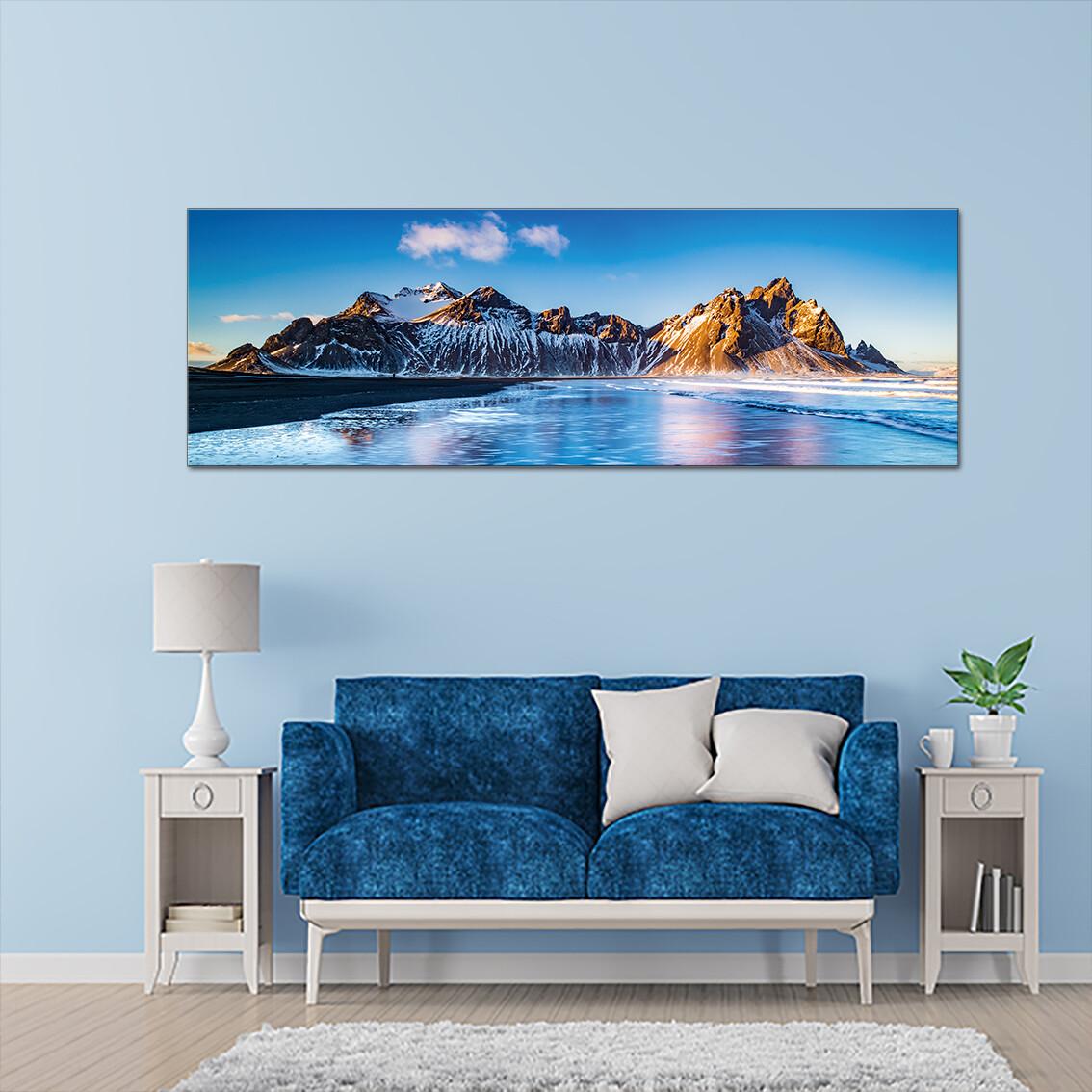 Lake Baikal, Russia  - Modern Luxury Wall art Printed on Acrylic Glass - Frameless and Ready to Hang