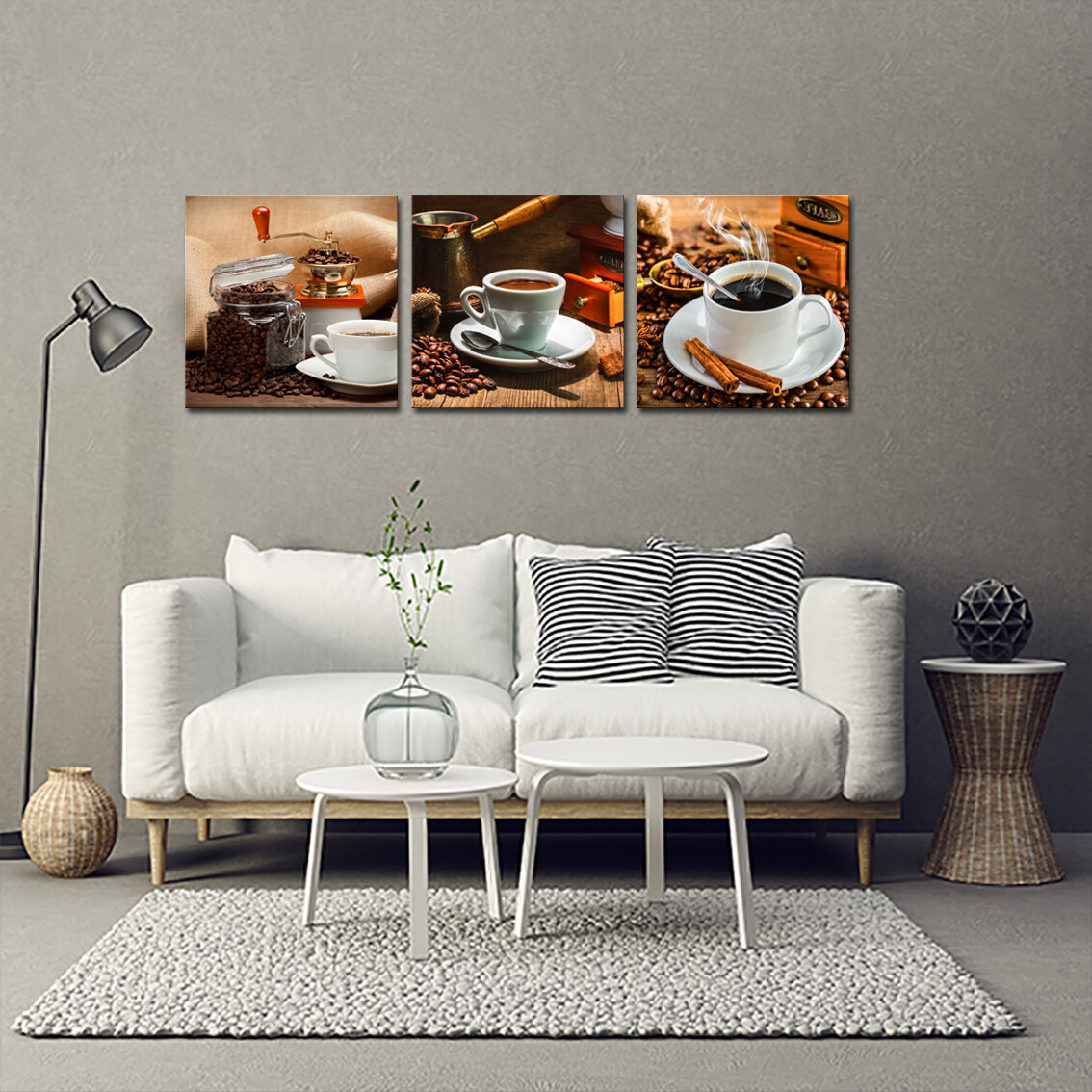 Coffee Break  - Modern Luxury Wall art Printed on Acrylic Glass - Frameless and Ready to Hang