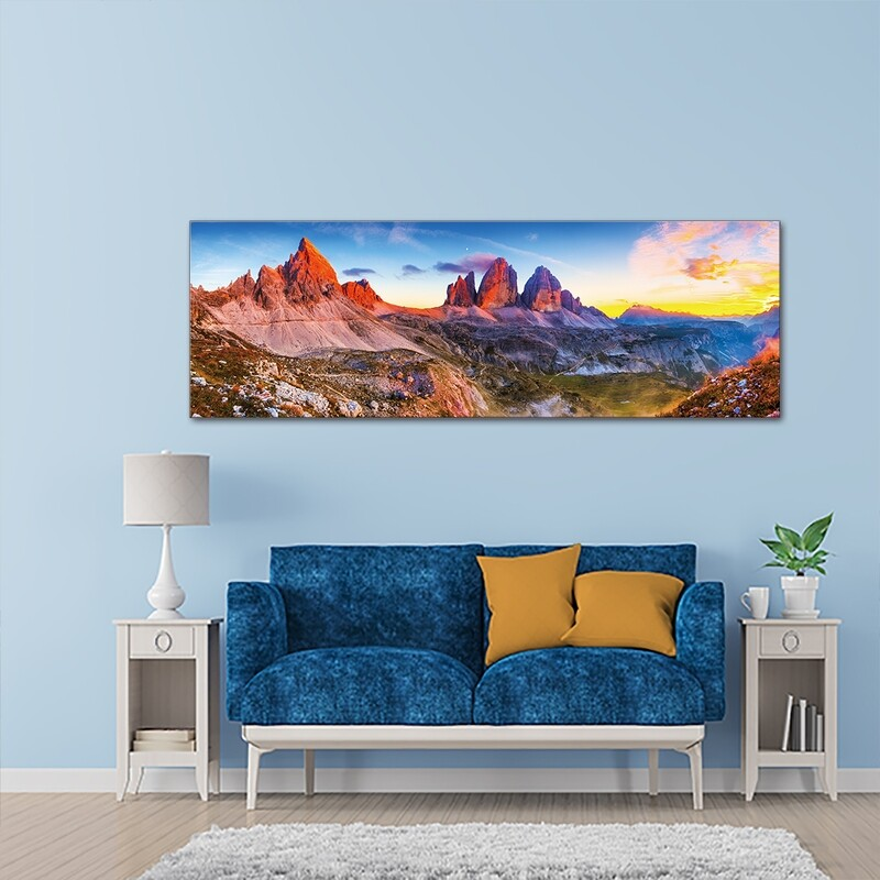 Canyonlands Utah National park  - Modern Luxury Wall art Printed on Acrylic Glass - Frameless and Ready to Hang