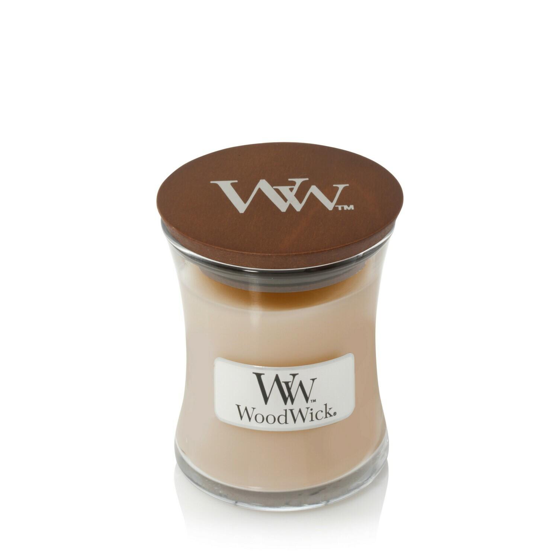Аромасвеча WoodWick Белый мёд, малая