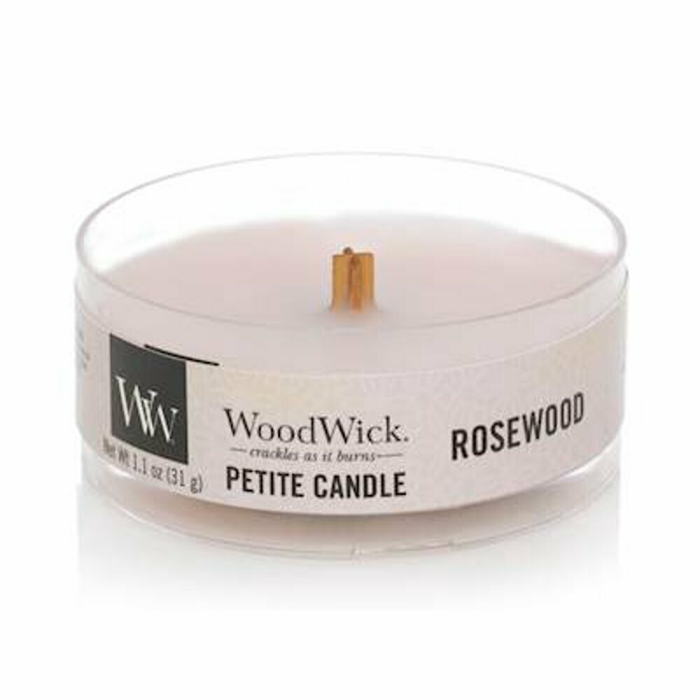 Аромасвеча WoodWick Розовое дерево, мини