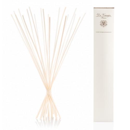 Палочки для диффузора Dr.Vranjes бамбук, белые 40 см