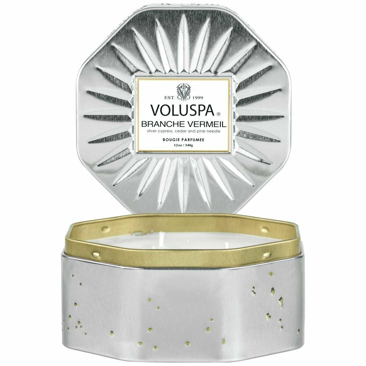 Свеча VOLUSPA Край позолоченного серебра