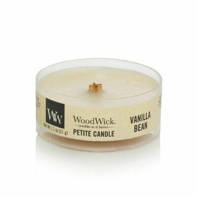 Аромасвеча WoodWick Ванильный боб, мини