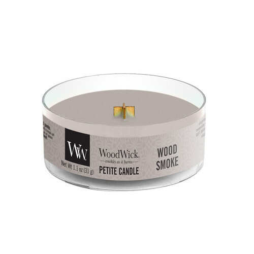 Аромасвеча WoodWick Древесный дым, мини