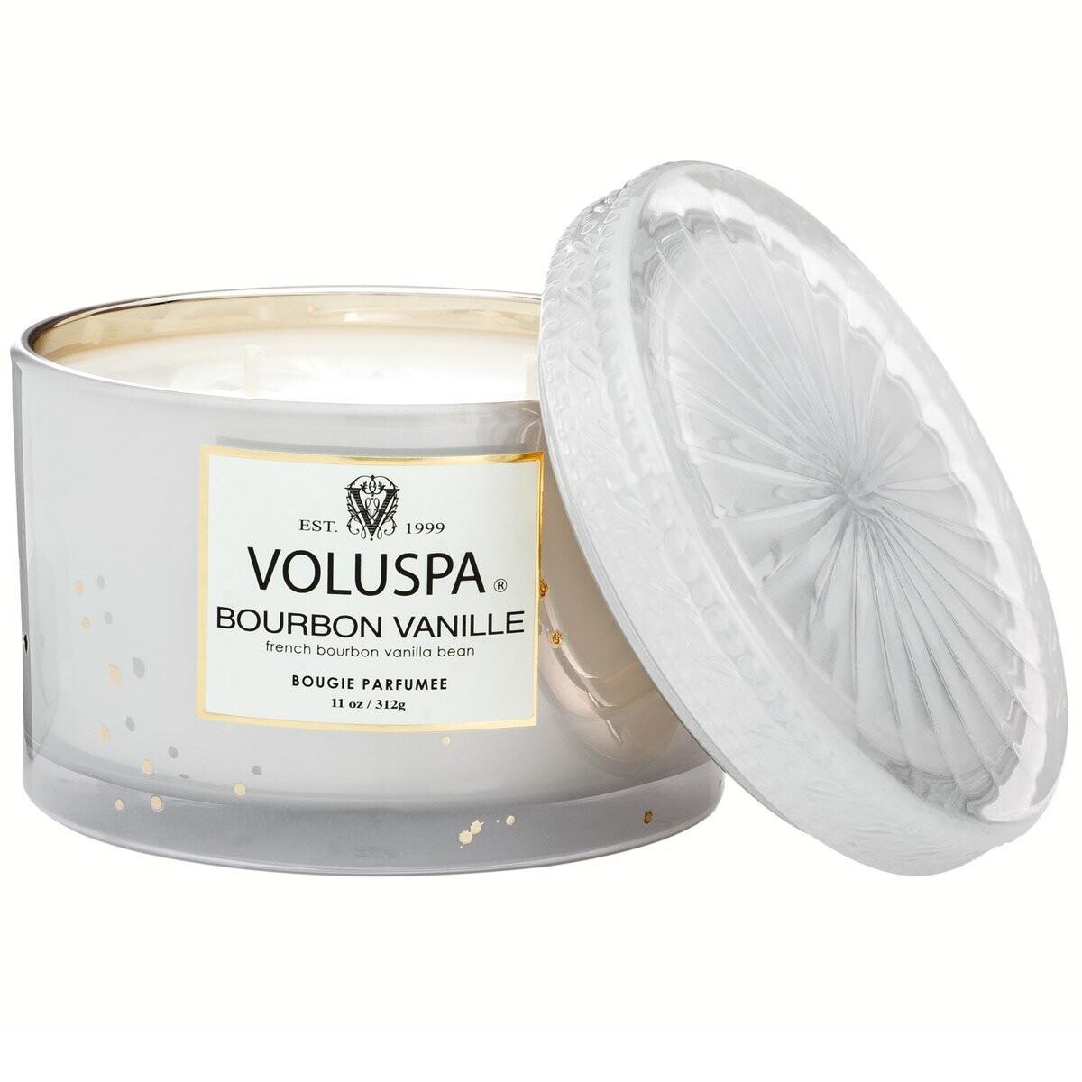Свеча VOLUSPA Бурбон ваниль