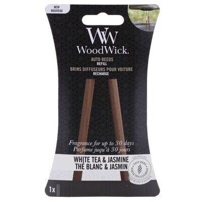 Сменный картридж к ароматизатору в авто Woodwick Белый чай и жасмин