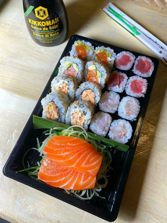 Combo sushi 18 pezzi