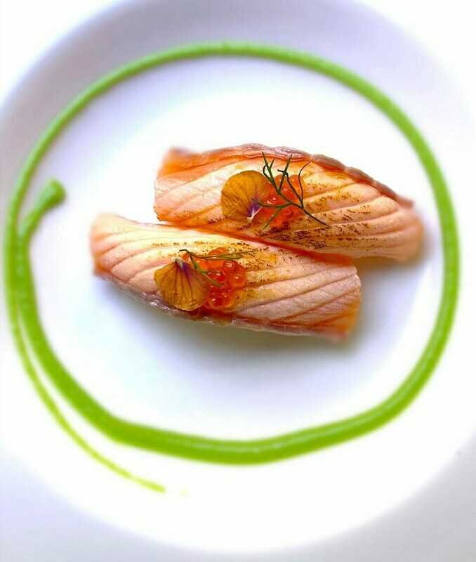Salmone Scottato