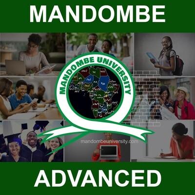 MANDOMBE - ADVANCED LEVEL