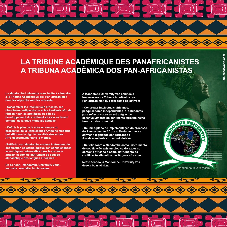 LA TRIBUNE ACADÉMIQUE DES PANAFRICANISTES