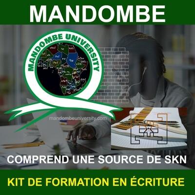 KIT DE FORMATION EN ÉCRITURE MANDOMBE