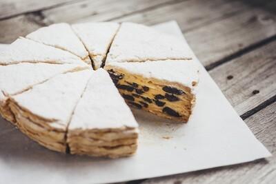 Торт Миндальный с черносливом (1400гр целый)