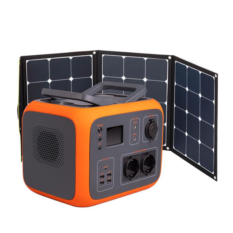 AC50 + Solarpanel WS120SF