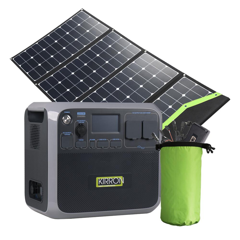 AC200P Solar Powerstation Set/Jetzt vorbestellen