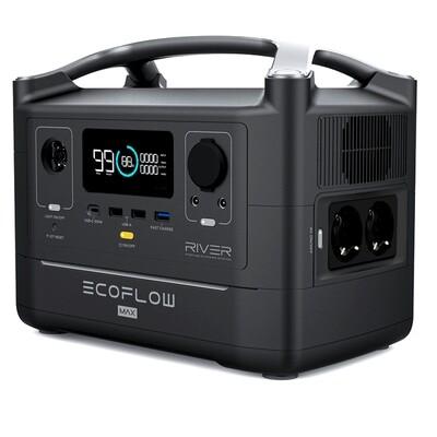 EcoFlow RIVER MAX Powerstation 576 Wh - Versandkostenfrei