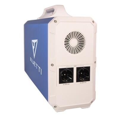 Poweroak Bluetti EB180 Lithium NiMnCo 1800Wh Solar-Kraftwerk