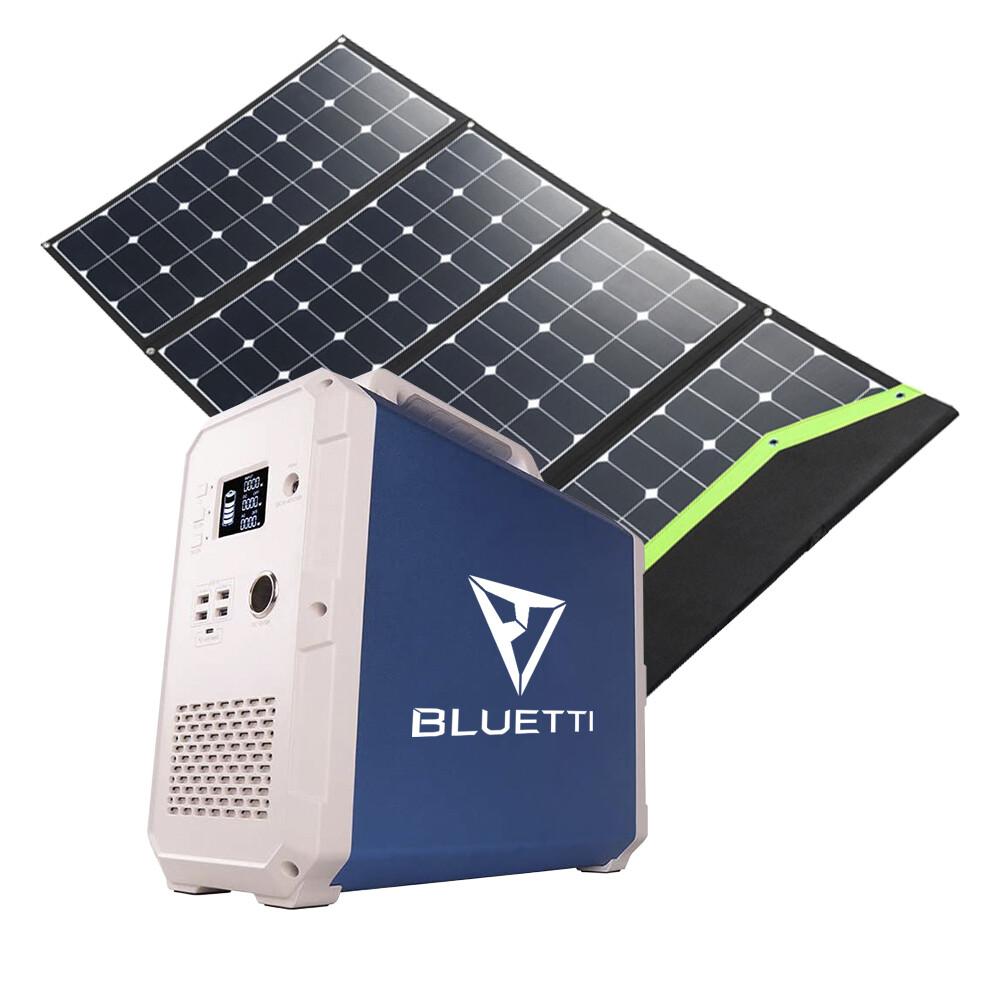 Bluetti EB180 Li-NiMnCo + Solartasche 220 W