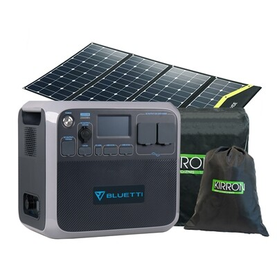 AC200P Solar Powerstation Set