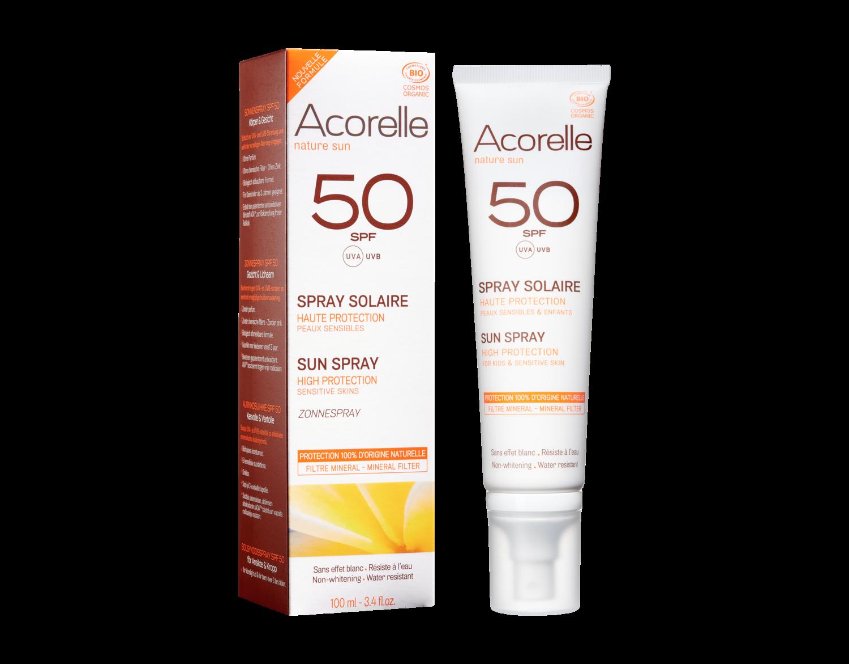 Acorelle - Spray SPF 50   100ML