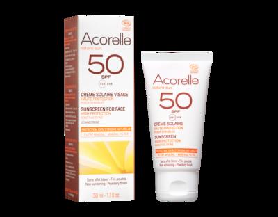 Acorelle - Crème Visage SPF 50  50ML