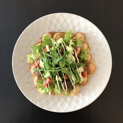 Falafel vohveli