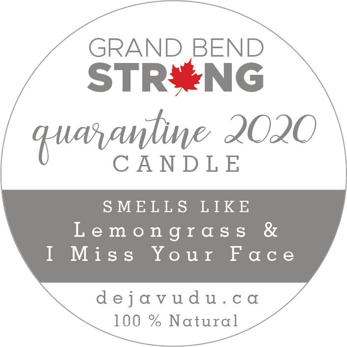 Quarantine Candle - TIN
