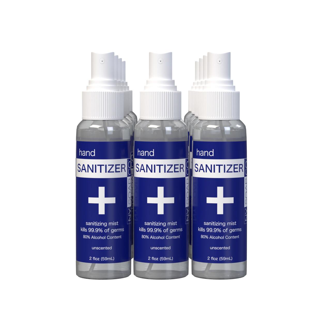 2oz Spray Bottle Case (12-36 Bottles/Case)