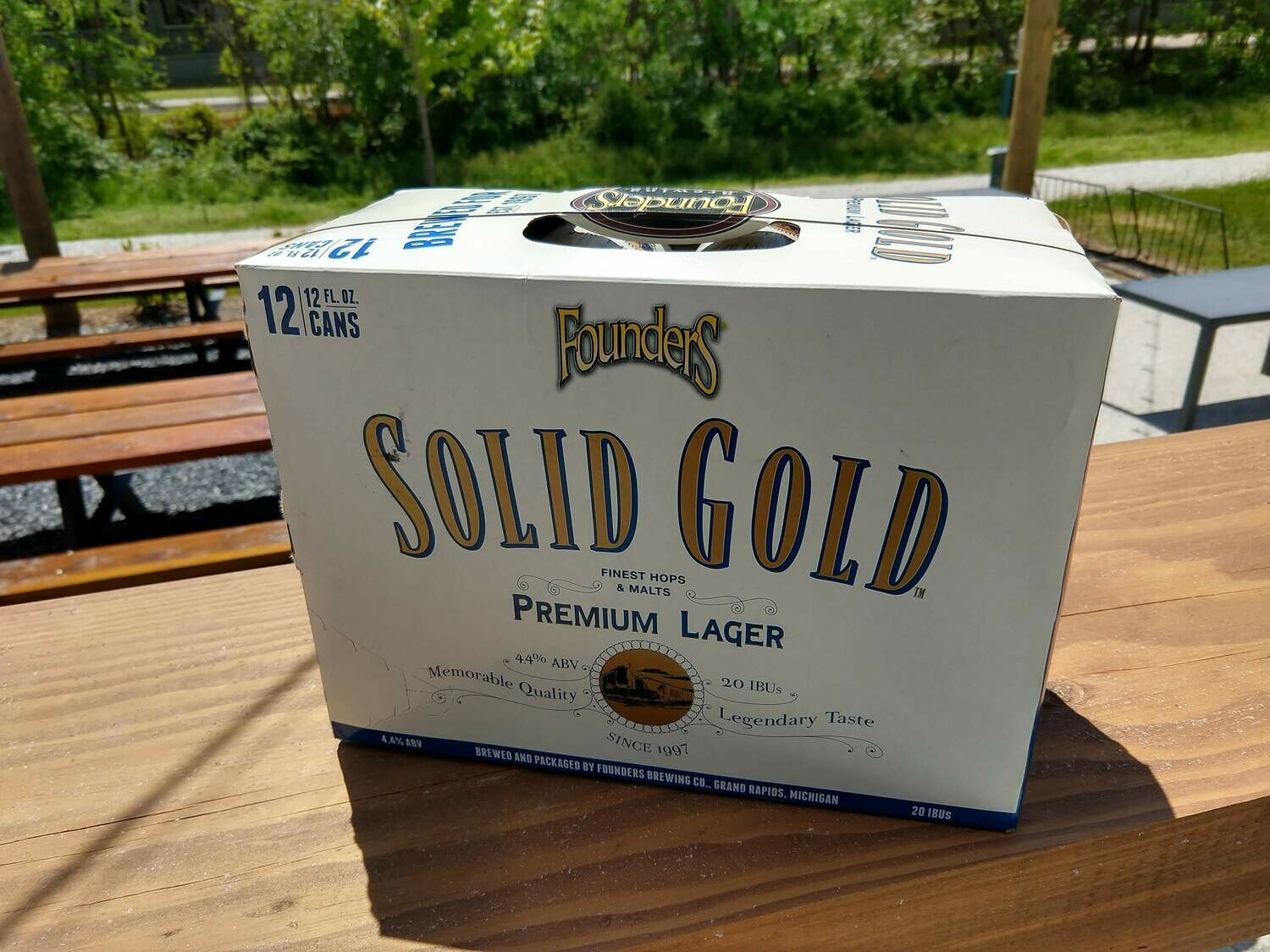 Founders Solid Gold Lager 12 Pack