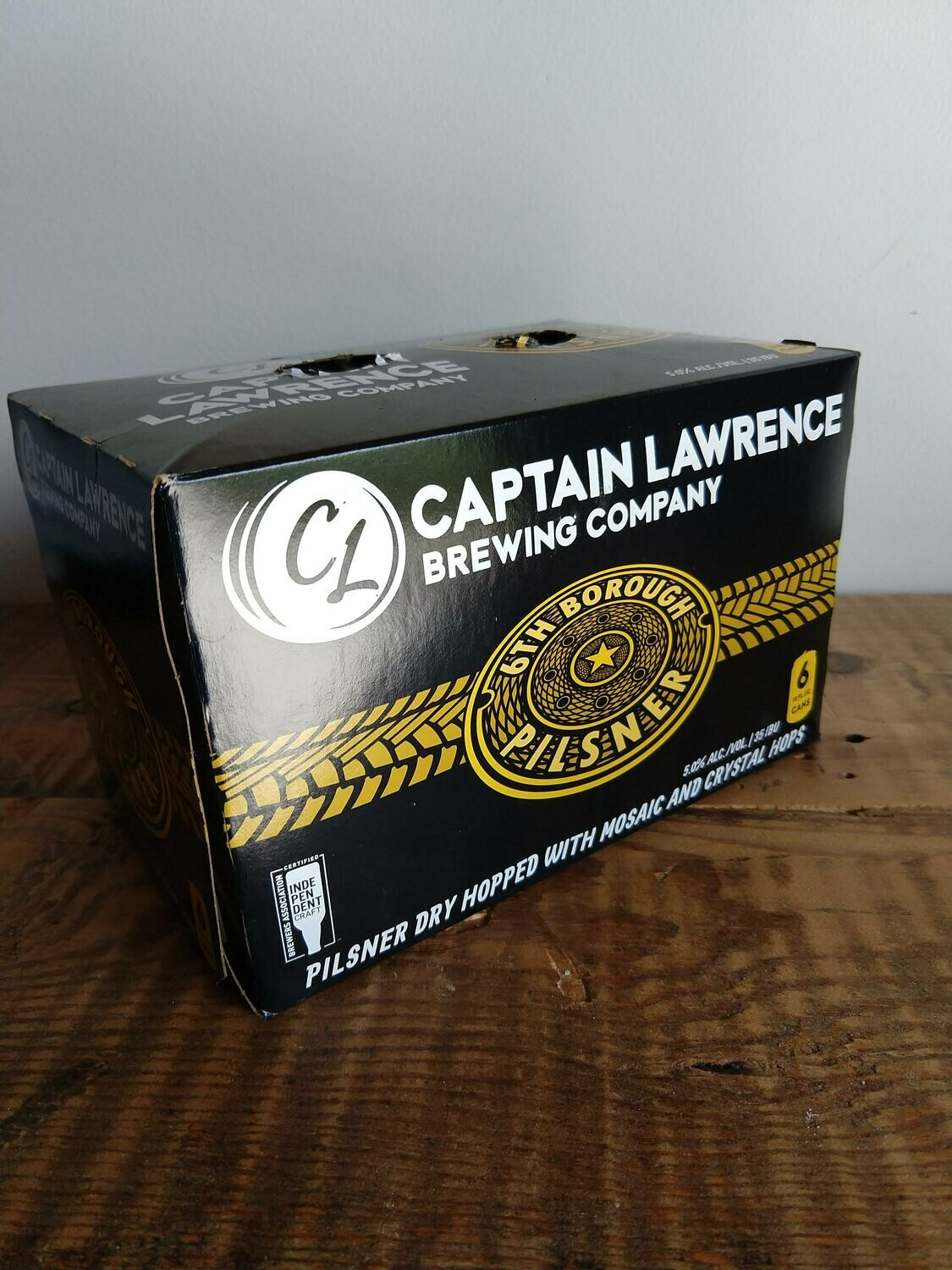 Captain Lawrence 6th Borough 6-pack