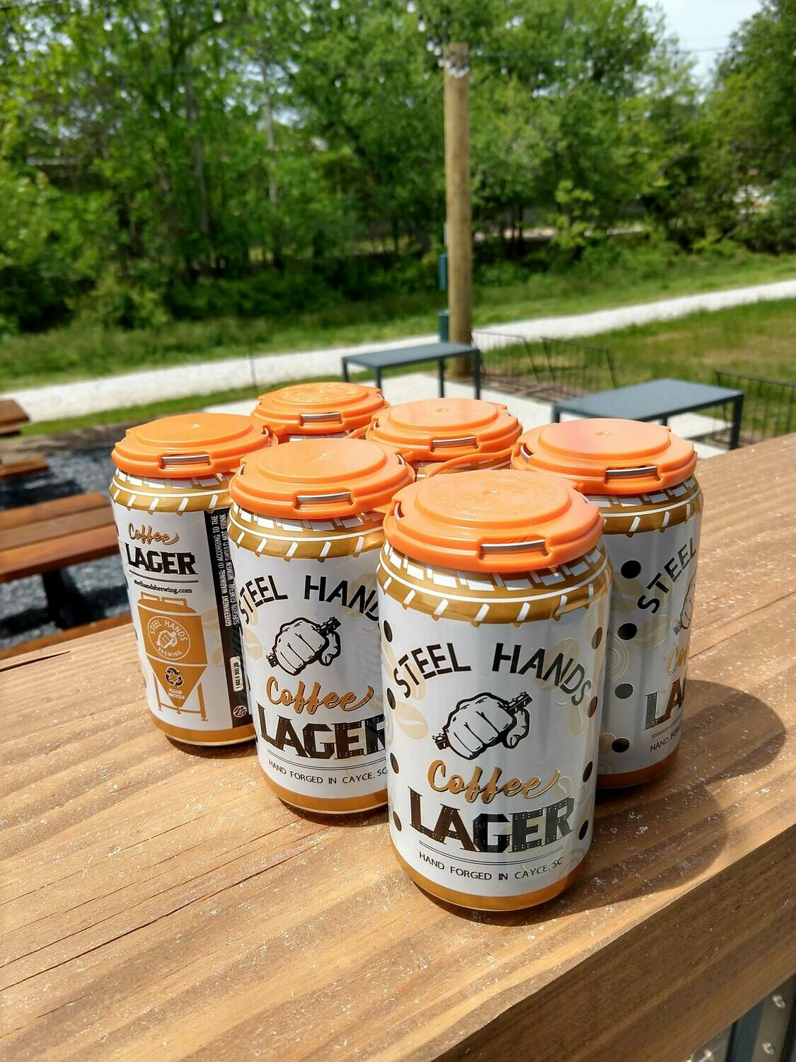 Steel Hands Coffee Lager 6-pack