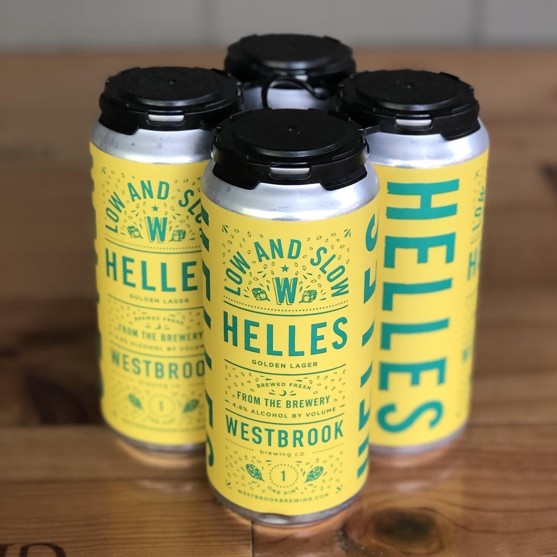 Westbrook Helles Lager (4pk)