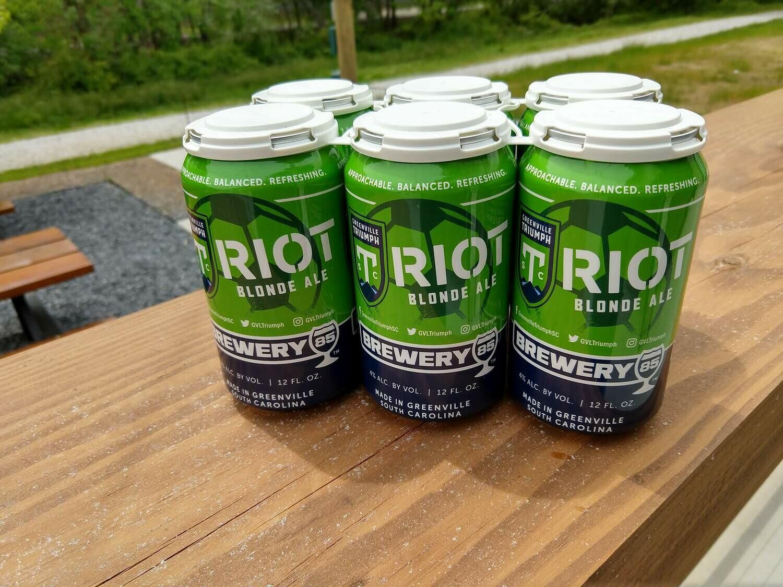 Brewery 85 Riot Blonde Ale