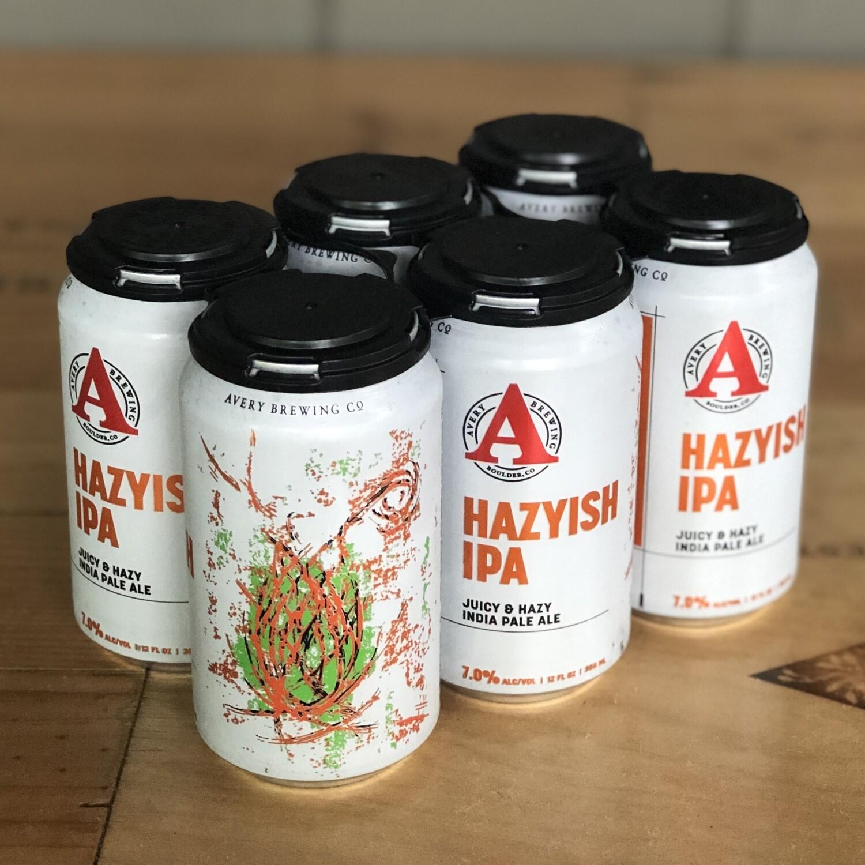 Avery Brewing Hazyish IPA (6pk)