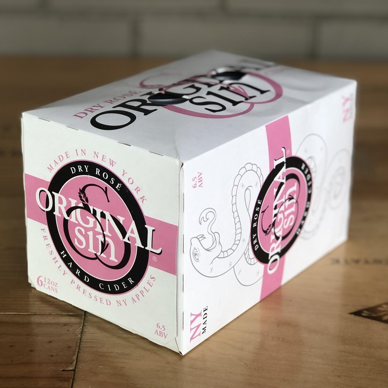 Original Sin Dry Rosé (6pk)