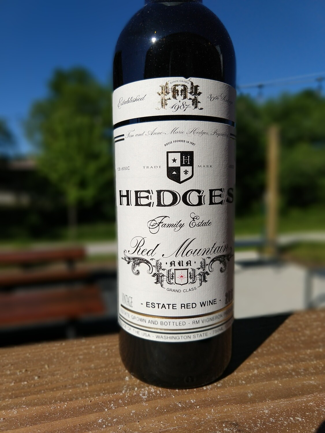 Hedges Red Mountain Blend 750ML