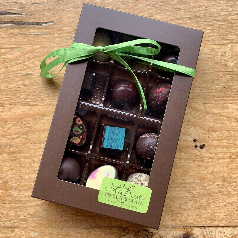 La Rue Fine Chocolate 12 ct