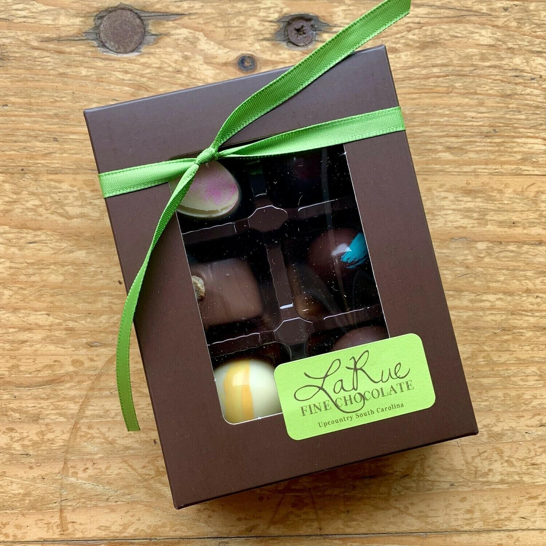 La Rue Fine Chocolate 6 Ct