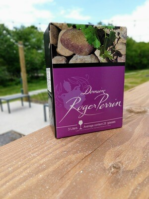 Domain Roger Perrin Cotes Du Rhone 3L Box