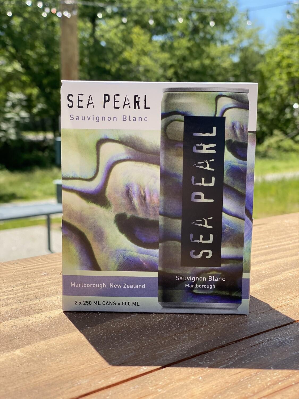 Sea Pearl Sauvignon Blanc 250ml Can 2pk
