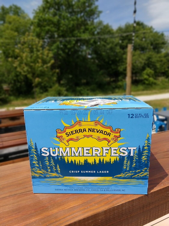 Sierra Nevada Summerfest Bottles (12pk)