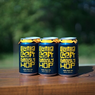 Columbia Craft Famously Hop Cans (6pk)