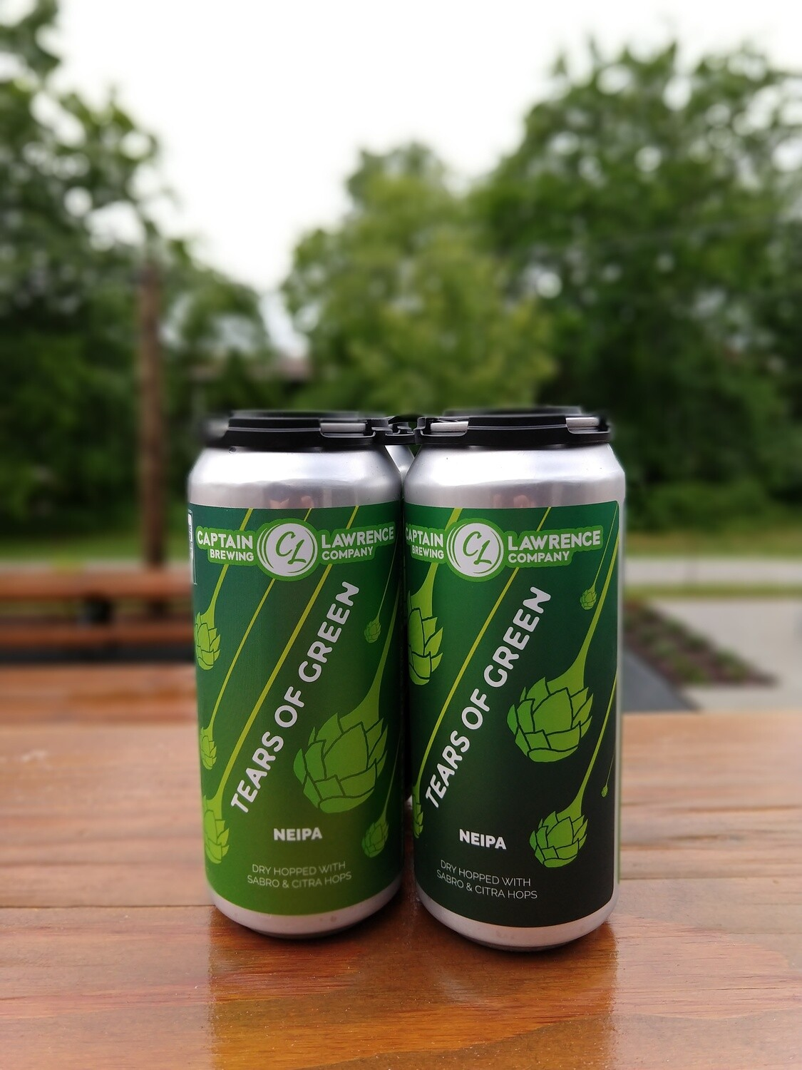 Captain Lawrence Tears Of Green 16oz Cans (4pk)