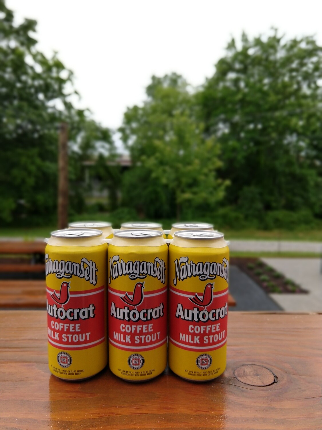 Narragansett Autocrat Coffee Stout 16oz Cans (6pk)