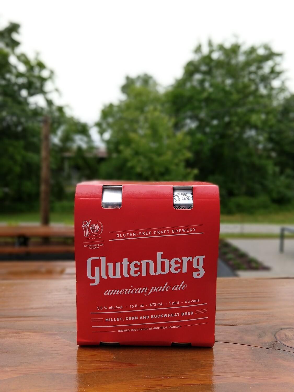 Glutenberg American Pale Ale Cans (4pk)