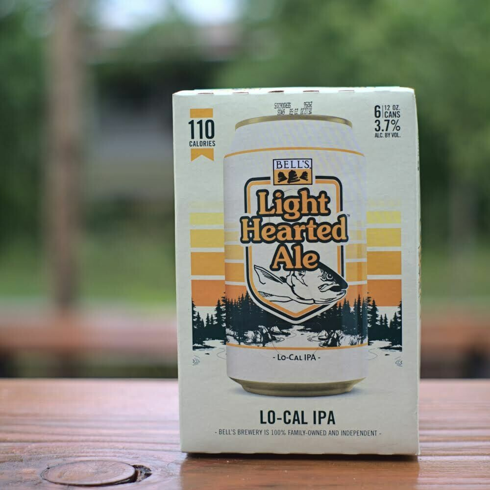 Bells Light Hearted Ale Cans (6pk)